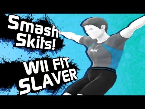Wii fit Slaver | Smash skits