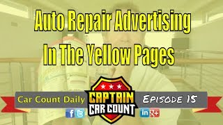 Auto Repair Advertising In The Yellow Pages For 2017