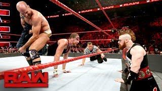 Dean Ambrose vs. Cesaro: Raw, Aug. 7, 2017