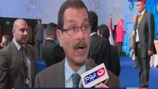 مؤتمر مصر تستطيع لقاء خاص مع الدكتور احمد درويش رئيس الهيئة الاقتصادية لقناة السويس