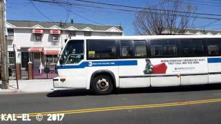 NYCTA: 1999 Novabus T80206 RTS #4989 on a Seagate bound B74