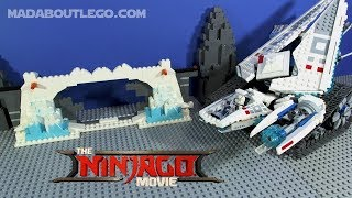 The LEGO NINJAGO Movie Ice Tank Movie Review