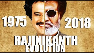 RAJINIKANTH Evolution (1975-2018)