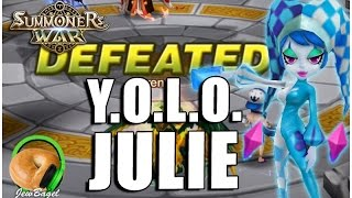 SUMMONERS WAR : Y.O.L.O. JULIE (Water Pierret Arena)