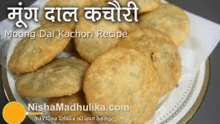 Moong Dal Khasta Kachori recipe -  Crispy Moong Dal Kachori recipe