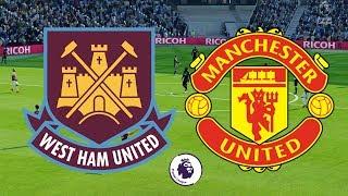 Premier League 2018/19 - West Ham Vs Manchester United - 29/09/18 - FIFA 18