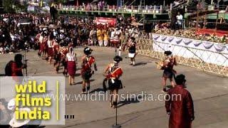 Ao Naga dance from  Nagaland