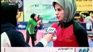 زیبا کلهر - اول در اسکی  Iran Ziba Kalhor 1st in Skiing