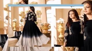 Anarkali Style Gowns EID Collection Salwar Kameez 2 latest fashion 2017 uk