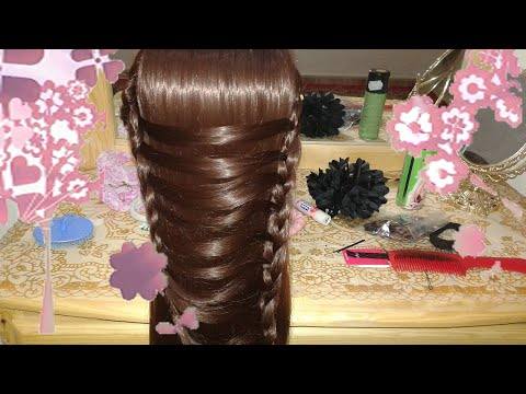 Peinados Faciles Bonitos Y Rapidos Con Trenzas Para Nina Con Cabello