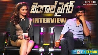 Bengal Tiger Movie Interview Full Video | Ravi Teja | Tamanna | TFPC