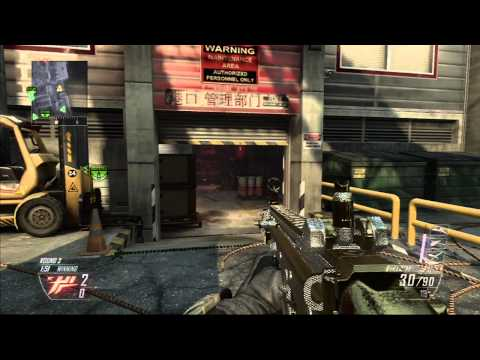 Black Ops 2: Search and Destroy 16-2 on Cargo SCAR-H Gameplay
