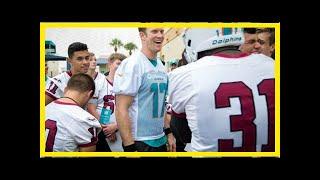 Breaking News | QB Ryan Tannehill's trash talk keeps coming; Miami Dolphins love it | The Daily Dol