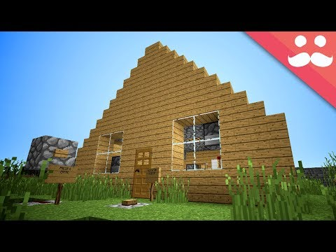 Making the WORST PISTON HOUSE in Minecraft