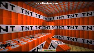 Minecraft - Blowing up an NPC village