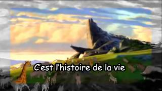 The Lion King - Circle Of Life (Euro. French + Subs)