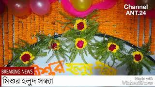 01 Mehedi  Night Ceremony  Of Mishu.Date 23 November 2017 মিশুর হলুদ সন্ধ্যা