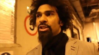 DAVID HAYE REACTS TO ANTHONY JOSHUA DESTROYING CHARLES MARTIN TO BECOME WORLD CHAMPION