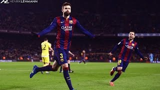 Gerard Piqué ● World's Best Defender ● 2015
