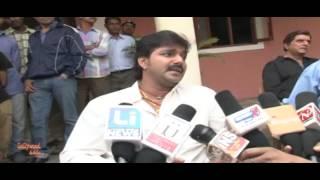 Lagi Nahi Chhute Rama   On Location Bhojpuri Movie   Actor Pawan Singh & Kavya