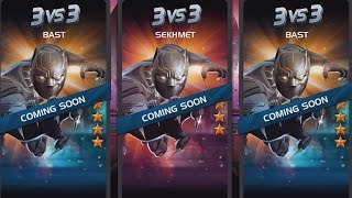 CIVIL WAR BLACK PANTHER IS NEXT | MARVEL: Contest of Champions (iOS/Android)
