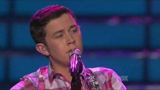 Scotty McCreery - Check Yes or No - Top 2 - American Idol 2011 Finale (2nd Song) - 05/24/11