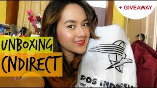 UNBOXING CNDIRECT HAUL   Expectation vs Reality + GIVEAWAY 12K Subscribers (Indonesia)