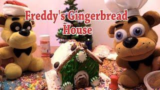 FNAF plush Episode 39 - Freddy's Gingerbread House