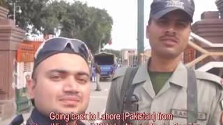 Amritsar (India) to Lahore (Pakistan) By Road (Attari Wagha Boarder).