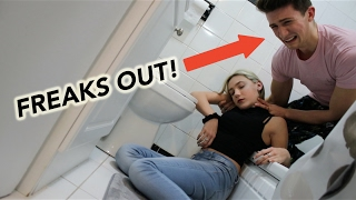 ALCOHOL POISONING PRANK ON BROTHER!