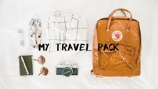 my travel pack