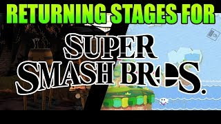 Stages That Should Return in Smash Bros Ultimate!