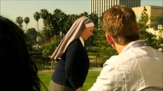 Annie and Caleb - Accidentally meets sister Mary Katherine - 90210 - 4x22