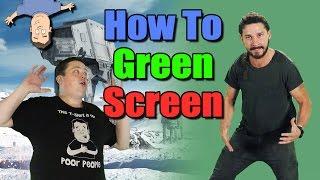 How To Setup, Light & Use a Green Screen