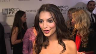 "Gone Girl: Emily Ratajkowski ""Andie Fitzgerald"" New York Movie Premiere Interview"