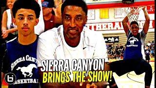 Son of NBA Greats Scotty Pippen Jr & Kenyon Martin Jr SHOW OUT vs LB Poly! Full Highlights