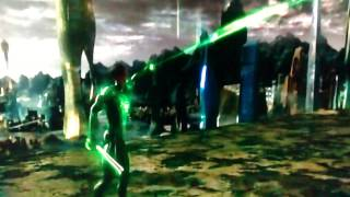 Green Lantern (2011) Hal Jordan vs Sinestro