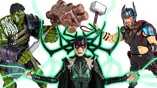 God of death Hela wake up! Marvel Hulk, Thor and friends! Stop the Ragnarok! - DuDuPopTOY