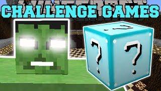 Minecraft: THE HULK CHALLENGE GAMES - Lucky Block Mod - Modded Mini-Game