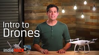 Drones Photography Basics - 5 Drone Shots You Need To Master - IndieHACK Ep. 9
