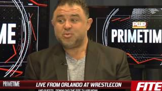 FITE TV LIVE from Wrestlecon with PWR