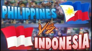 PHILIPPINES VS INDONESIA Bo3 - MOBILE LEGENDS E-SPORTS (English Commentary)