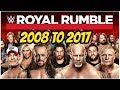 Download Video Download Royal rumble winners 2008 to 2017 highlights wwe royal rumble all time winners part 2 3GP MP4 FLV