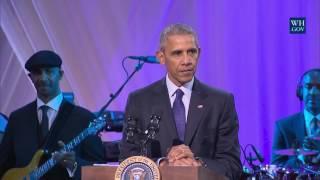 Obama Jokes At Final White House Music Night - Full Speech