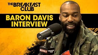 Baron Davis Talks Black Santa Movement, Lonzo Ball + More