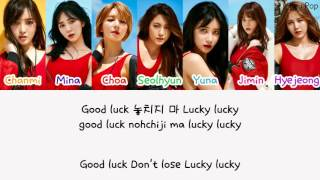 AOA (에이오에이) - Good Luck Color Coded [Han|Rom|Eng Lyrics]