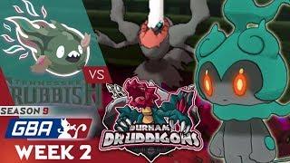 DARKEST BEFORE THE DAWN! Tennessee Trubbish vs. Durham Druddigons! GBA Season 9 - Week 2