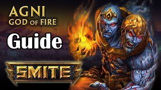 SMITE : How To Play Agni Season 2 ( Builds, leveling and thoughts)