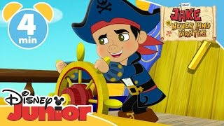 Captain Jake and the Never Land Pirates | Attack of the Pirate Piranhas | Disney Junior UK