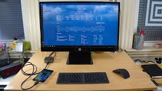 Lumia 950 on Continuum: More than a Smartphone (First Impressions)